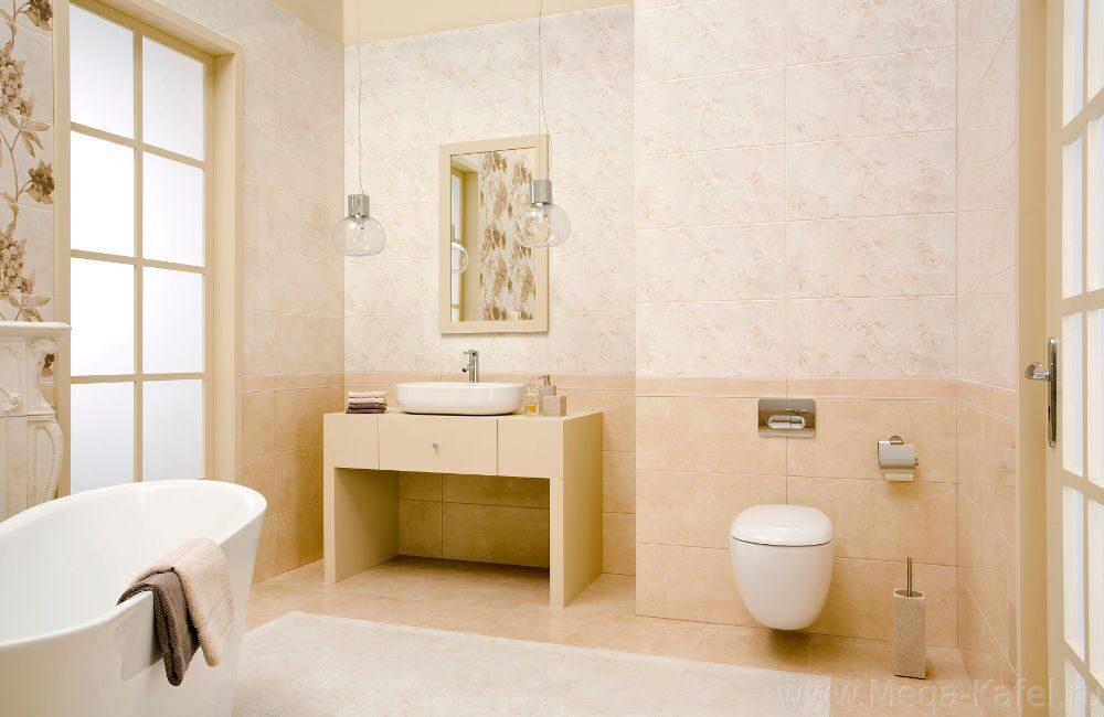 Badezimmer Beige